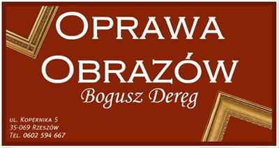 Oprawa obrazów Rzeszów - Bogusz Deręg, Rzeszów ul. Kopernika 5