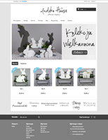Wykonanie sklepu internetowego IndekoHouse