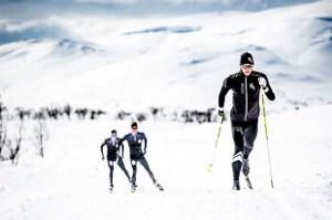 bieg na nartach