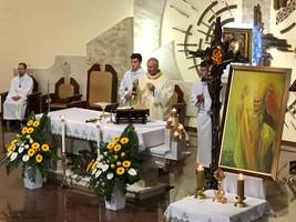 RELIKWIE ŚW. JANA PAWŁA II W PALIKÓWCE