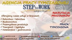 Zrób krok do pracy!